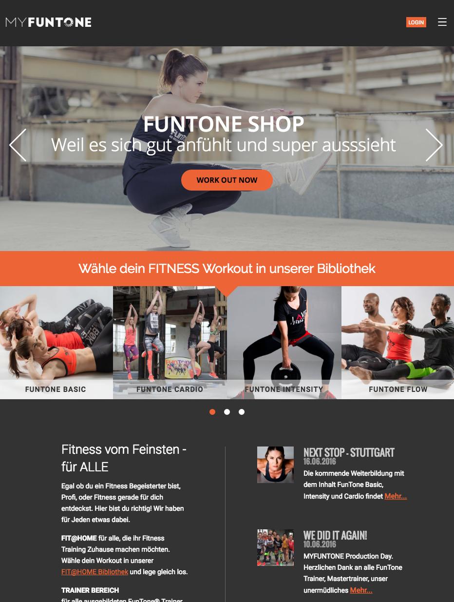 Online store MyFuntone