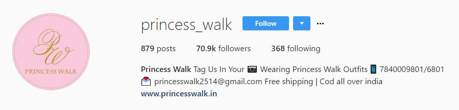 Princesswalk
