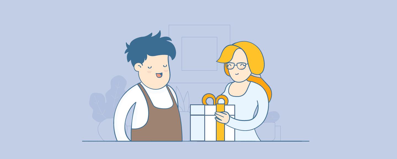 Как и зачем дарить подарок за покупку: 50+ идей для интернет-магазинов