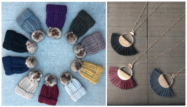 Пример удачного фото с несколькими товарами от The Pink Porcupine