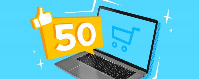 50 красивых и необычных интернет-магазинов на Эквиде