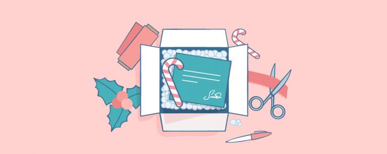 Праздничная упаковка товара: 100+ идей оформления новогодней посылки