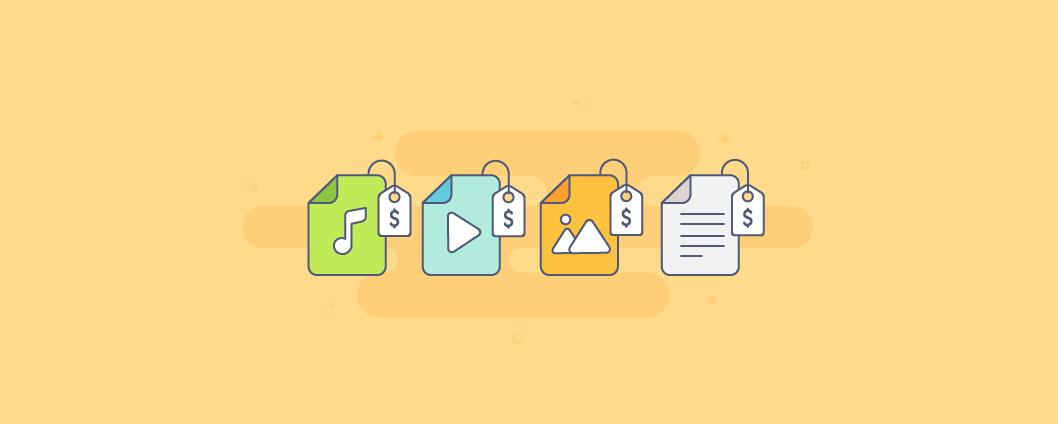 Электронные товары: как продавать книги, иллюстрации, музыку и видео с помощью Эквида