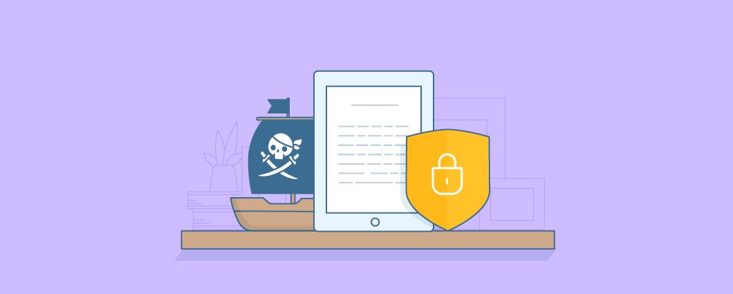 Как защитить электронные товары от пиратства