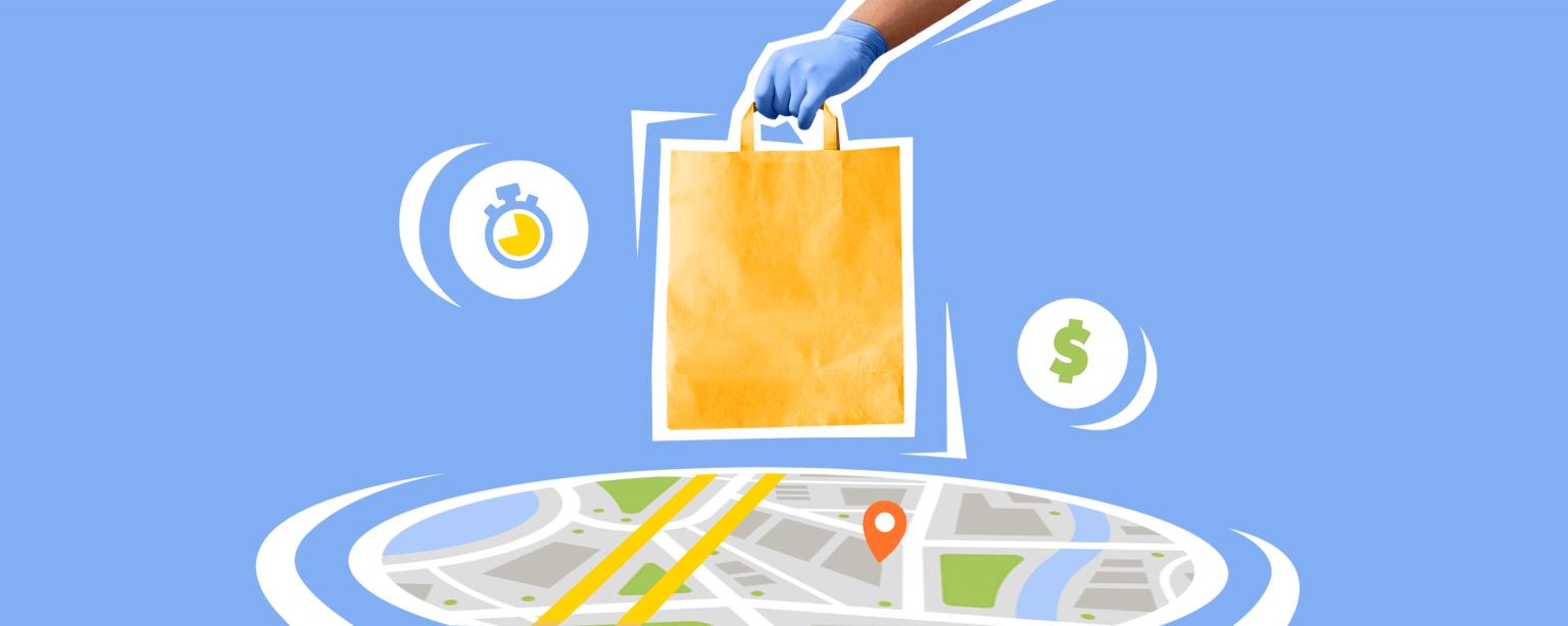 Зоны доставки на карте и другие функции Эквида для локального интернет-магазина