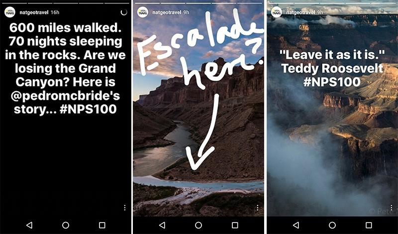 В своих историях National Geographic опубликовал рассказ о том, как проходила съёмка