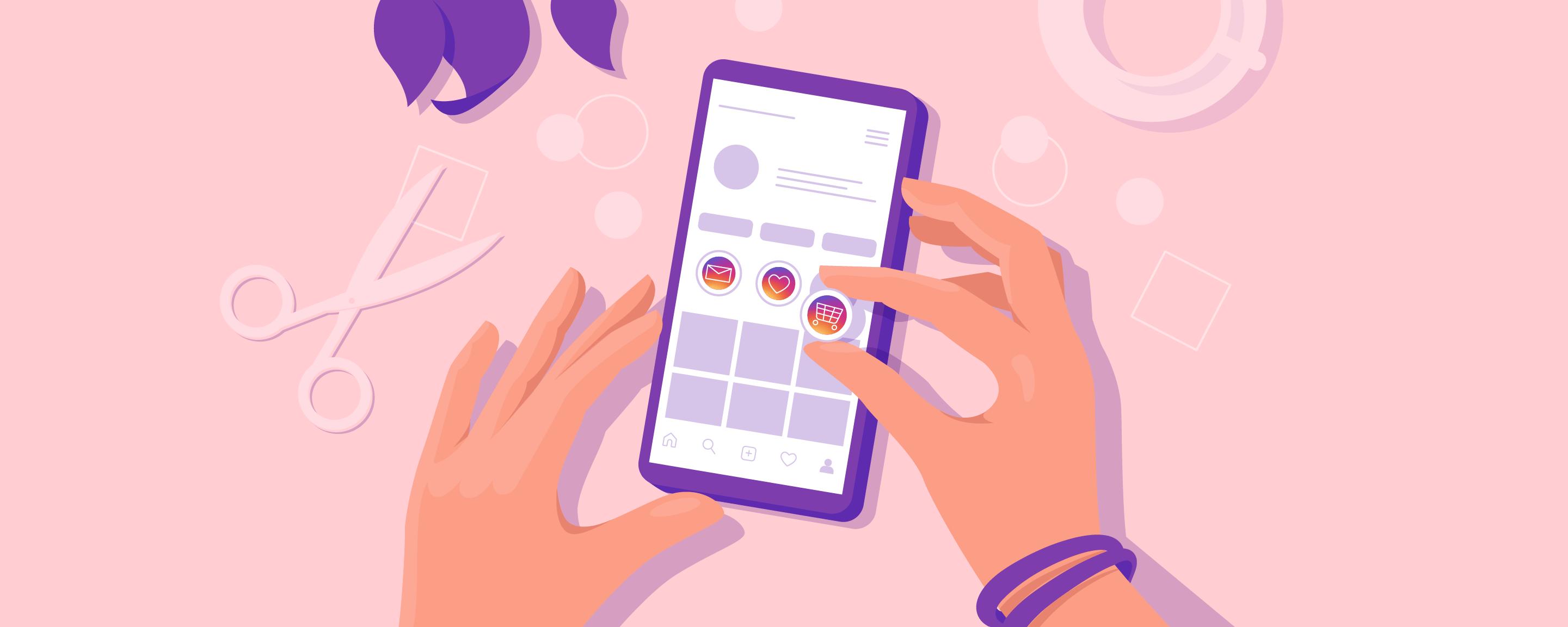 Как создать меню в Инстаграм-аккаунте: настройка блока Актуальное с примерами