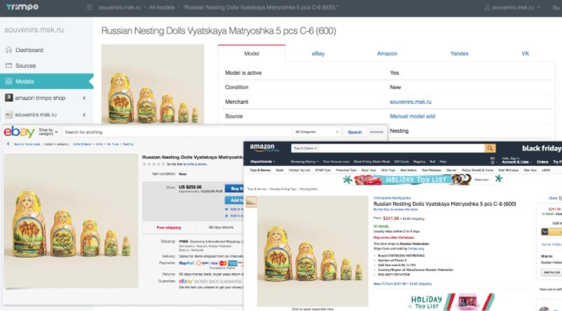 Быстрая выгрузка товаров в Яндекс.Маркет, ВКонтакте, eBay