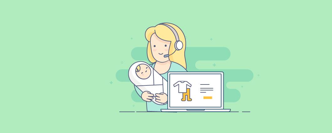 Какой онлайн-магазин открыть молодой маме? 5 идей, которые уже работают