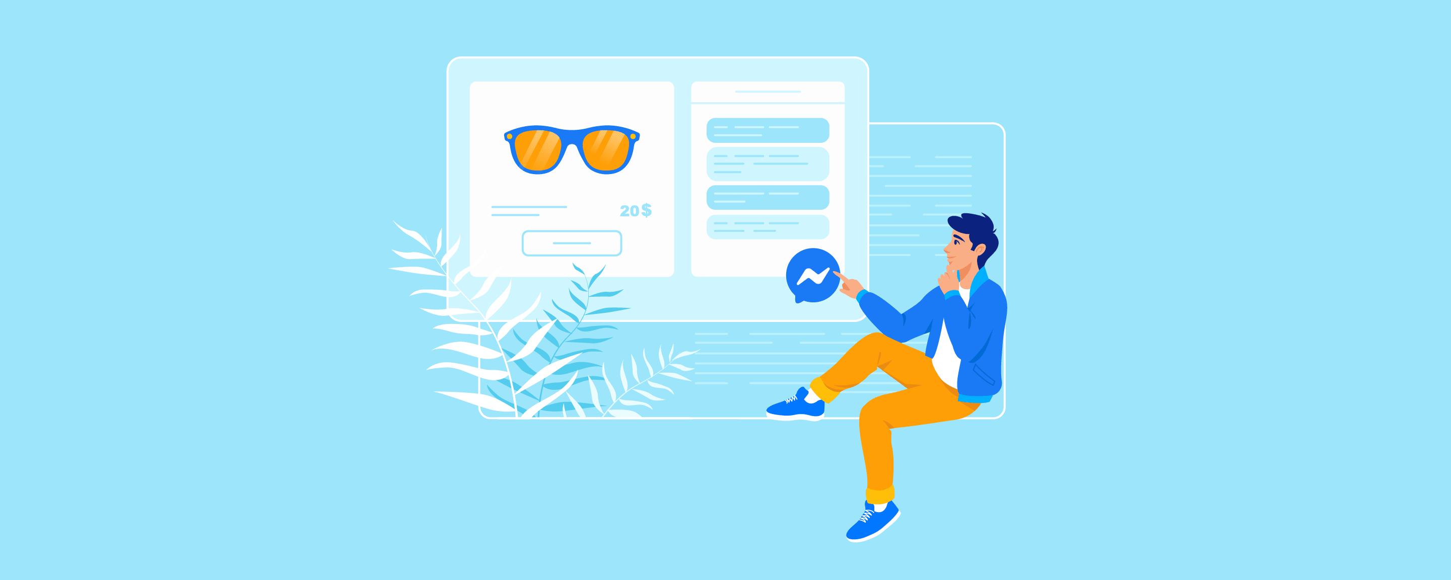 Помогайте и продавайте: чат Facebook Messenger в вашем Эквид-магазине