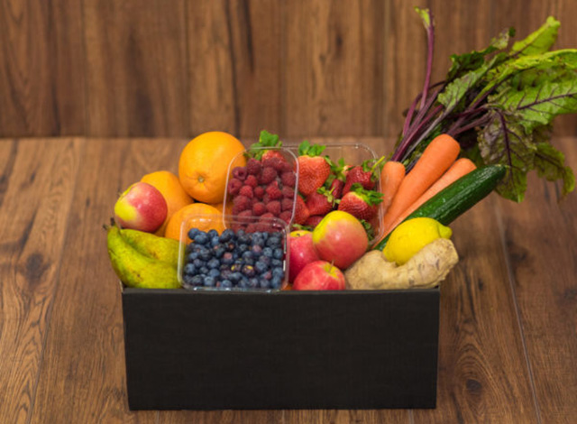 Наборы овощей и фруктов с доставкой