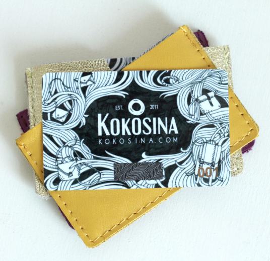 Kokosina.com предлагает сертификат и в виде карты, и в электронном формате