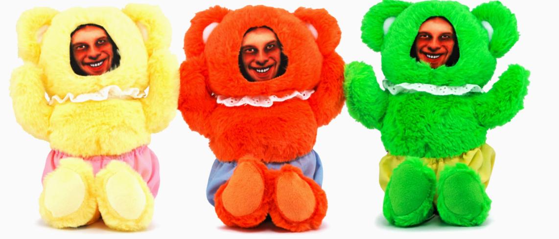Медведи с лицом композитора Aphex Twin понятны только его поклонникам