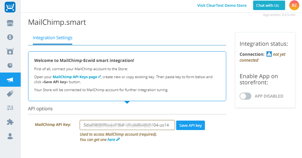 Приложение MailChimp Smart