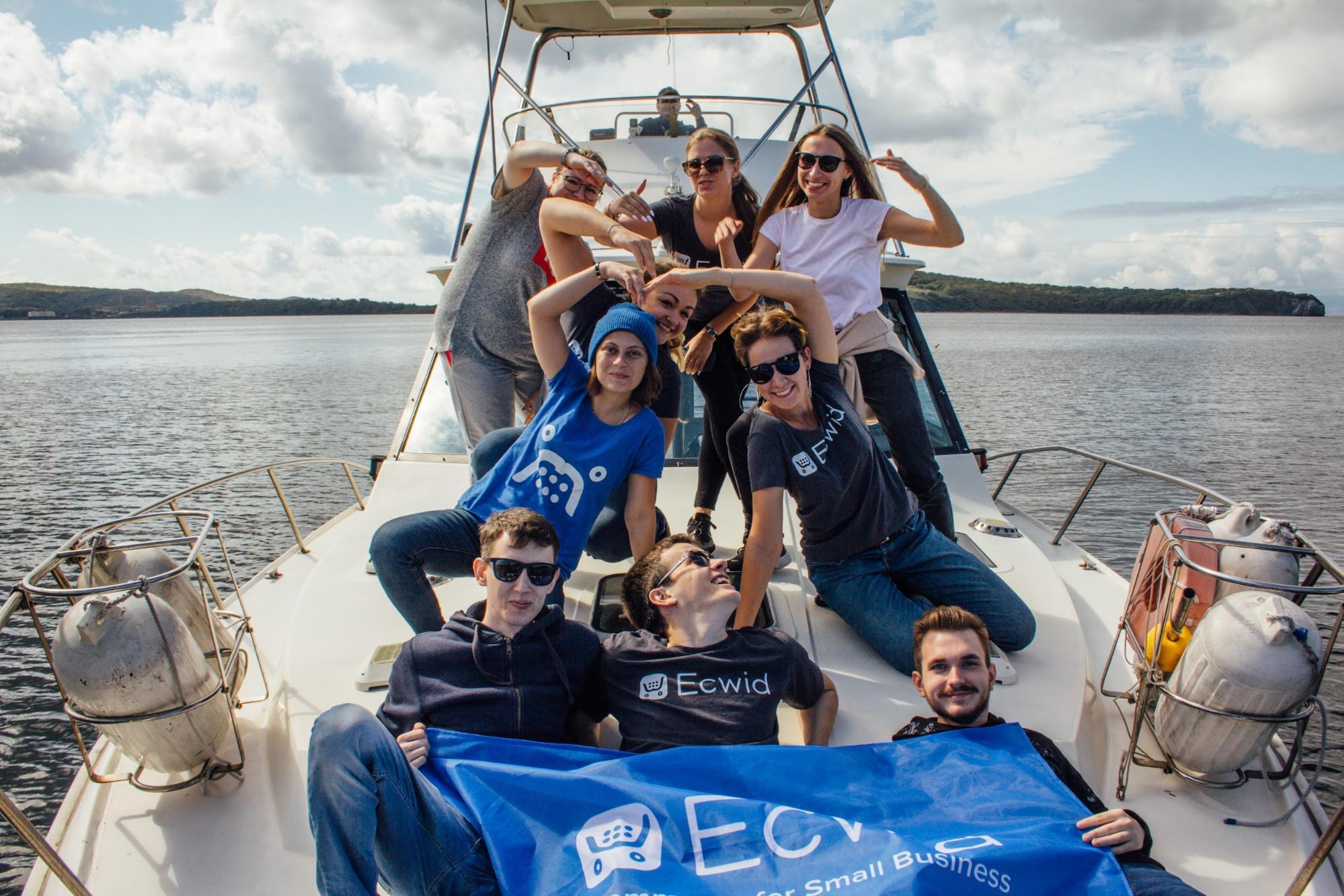Привет от команды Эквида во Владивостоке