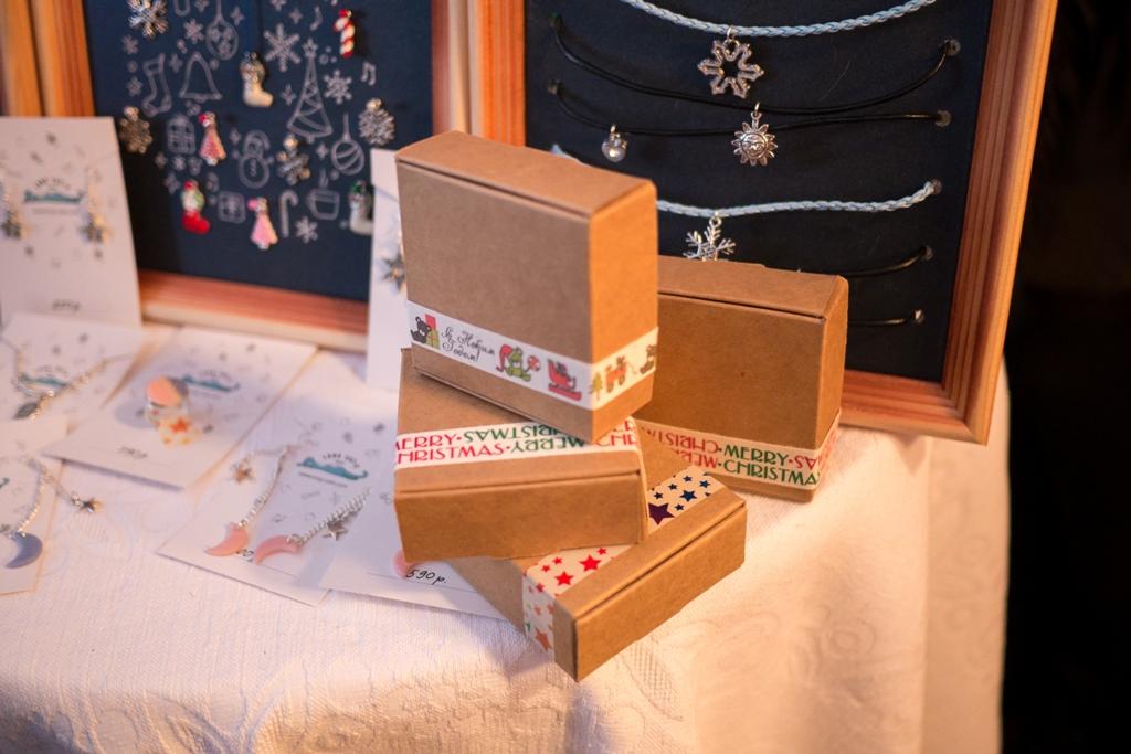 сделайте подарочные упаковки
