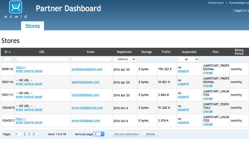 Интерфейс личного кабинета участника Jumpstart
