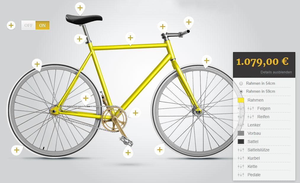 Конструктор велосипедов