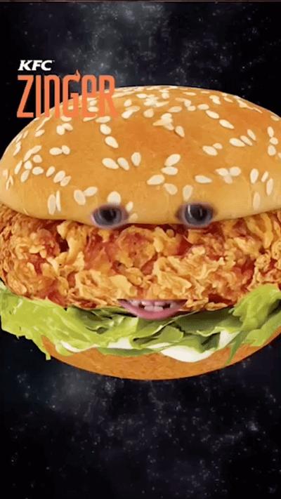 Рекламировать новый товар можно с помощью маски, как KFC