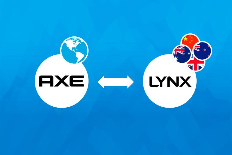 Axe знают под брендом Lynx