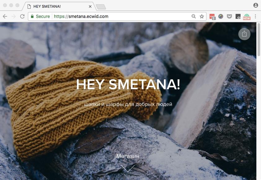 Стартовый сайт Эквида уже защищен SSL сертификатом