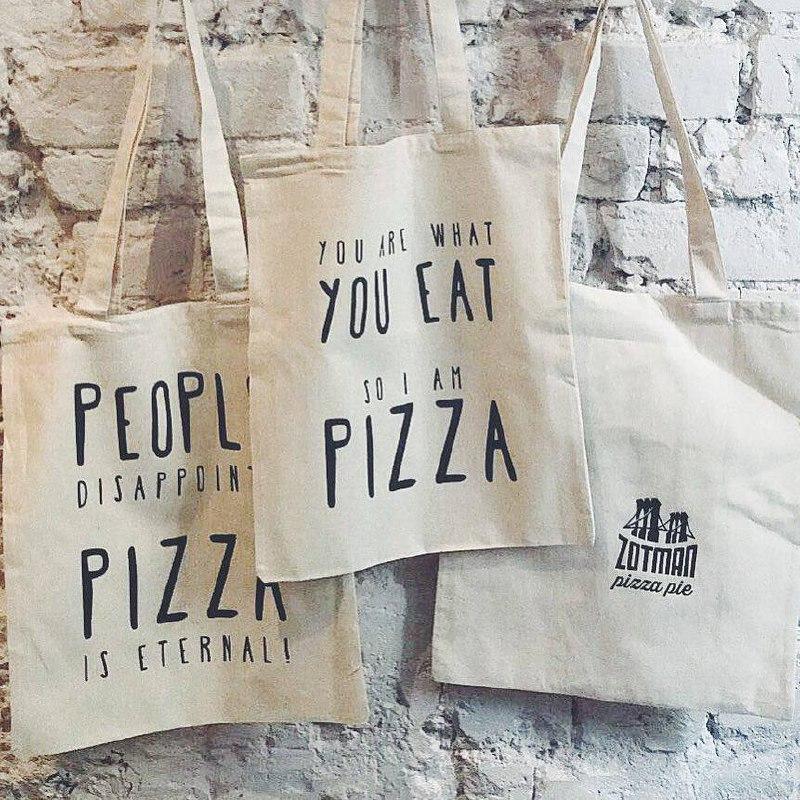 Ресторан Brooklyn Pizza Pie создал шопперы с любовью к пицце