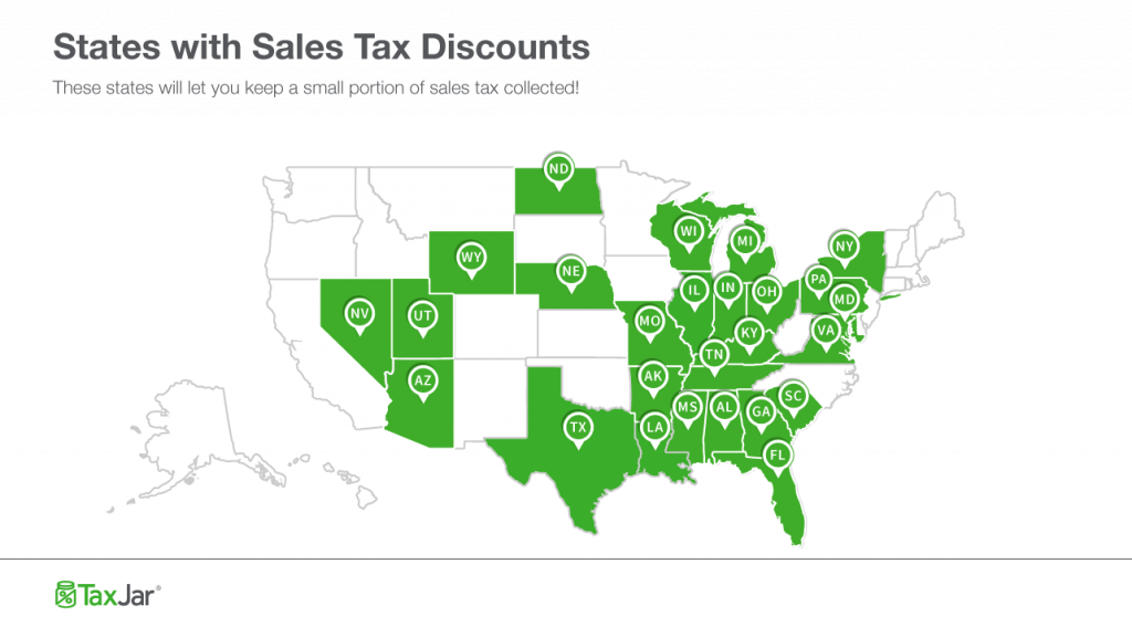 Sales Tax Discounts