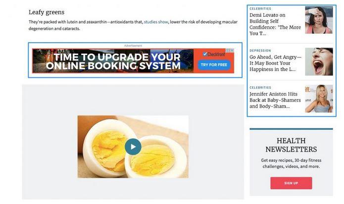 monetizar blog malos anuncios