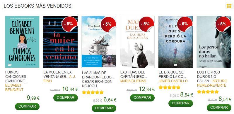 ebooks en venta