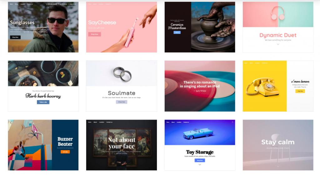 temas de diseño para tienda online