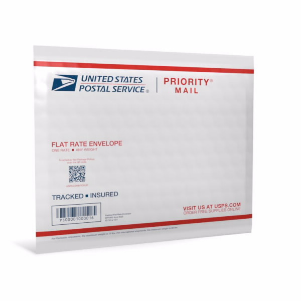 usps padded envelope flat rate