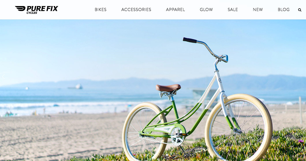 Online bike retailer Pure Fix Cycles