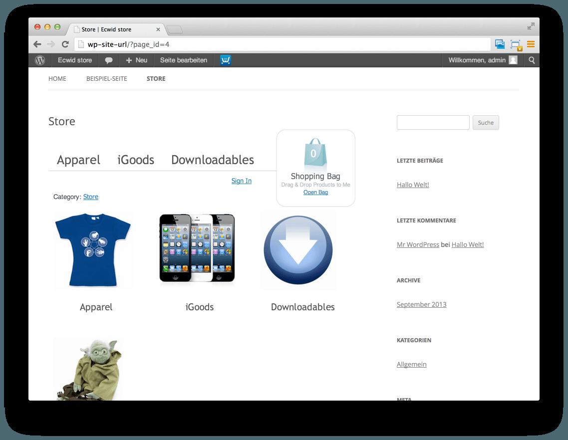 Sämtliche Änderungen erfolgen automatisch auf ihrer WordPress Seite
